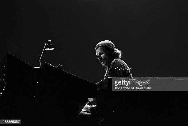 April 1978 : Jazz musician Joe Zawinul performs on stage with his jazz group Weather Report in April 1978 at the Havana Jam Festival in Havana, Cuba.