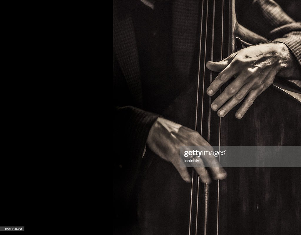 Jazz musician : Stock Photo