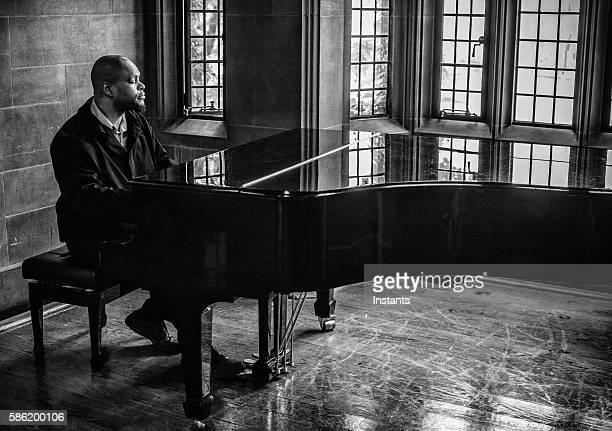 ジャズミュージシャン - ピアノ奏者 ストックフォトと画像