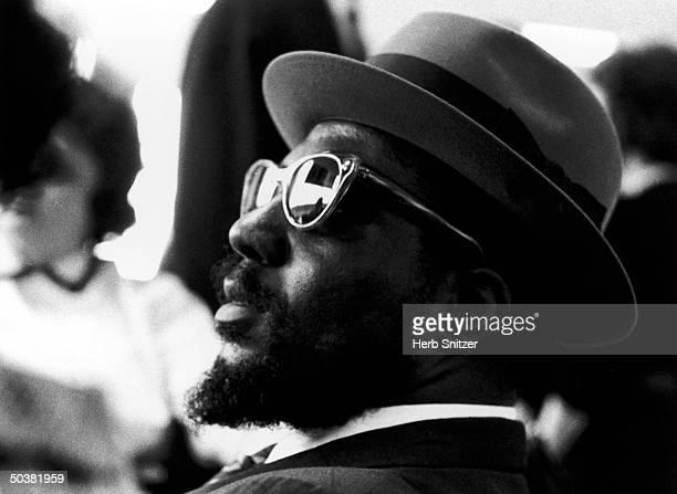 Jazz musician Thelonious Monk