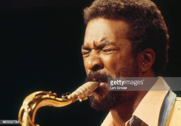 Jazz musician Wendell Harrison performs circa 1980 in Detroit Michigan