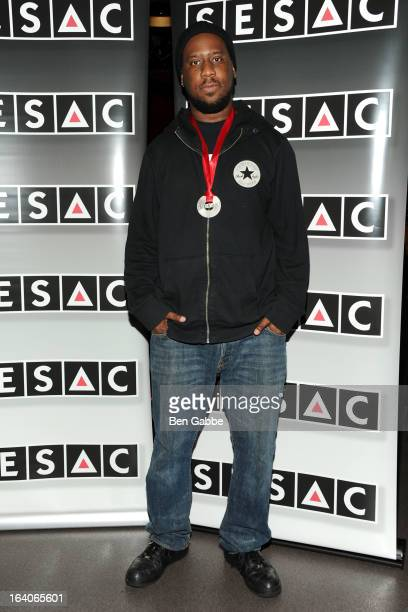 Jazz Musician/Composer Robert Glasper attends the SESAC 2012 Jazz Awards Luncheon at Jazz Standard on March 19 2013 in New York City