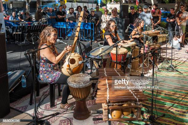 Jazz on Ben Gurion On select fridays during october and november the public can enjoy free outdoor Jazz performances Performance by Trio Malaika