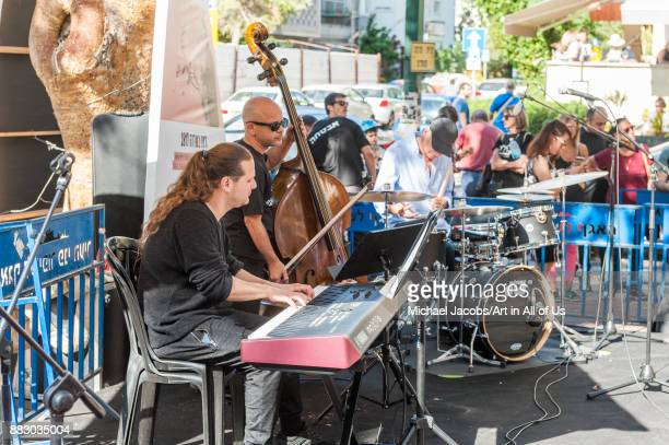 Jazz on Ben Gurion On select fridays during october and november the public can enjoy free outdoor Jazz performances Performance by the Classy Katz