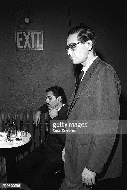 Jazz pianist Bill Evans at the Village Vanguard club in Greenwich Village