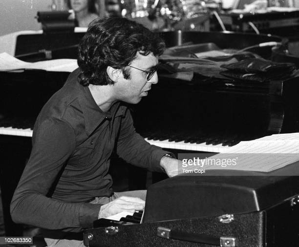 Jazz pianist Bob James performs onstage in 1976 in Oakland California