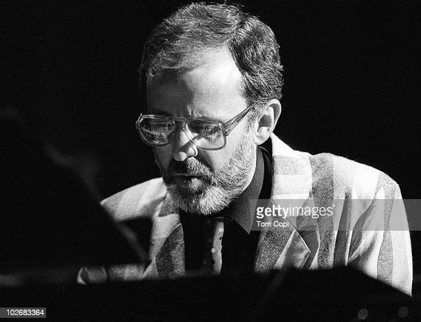 Jazz pianist Bob James performs onstage in 1985 in San Francisco California