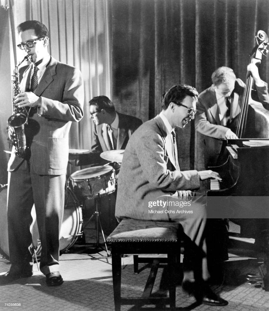 Dave Brubeck Quartet Performing : Foto jornalística