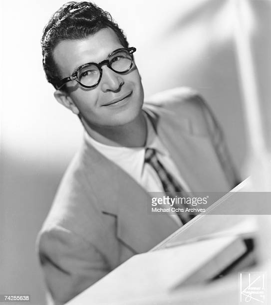 Jazz pianist Dave Brubeck poses for a portrait in circa 1957 in New York City, New York.