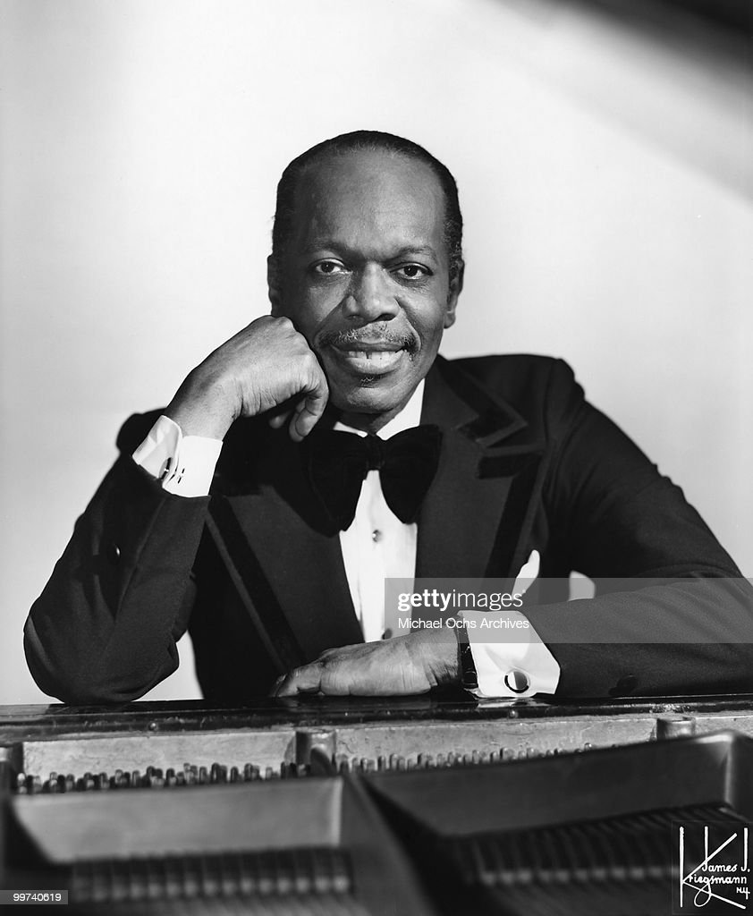 Jazz Pianist Henry 'Hank' Jones poses for a portrait circa 1970 in New York City, New York.
