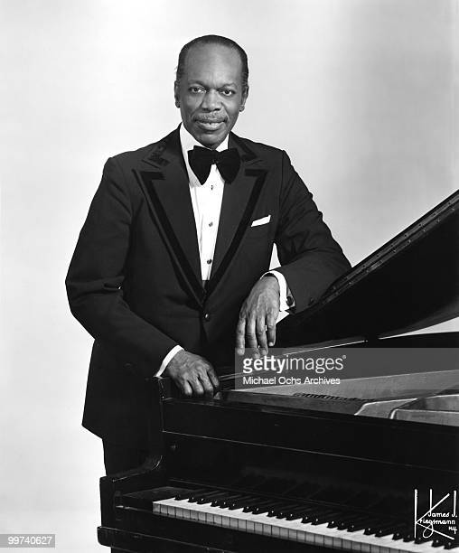 Jazz Pianist Henry 'Hank' Jones poses for a portrait circa 1970 in New York City New York