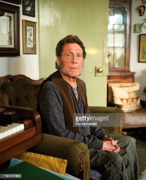 Jazz pianist Keith Tippett is photographed for the Wire magazine on June 24 2019 in Gloucestershire England