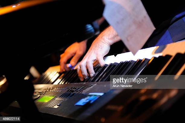 Jazz pianist Mitch Forman performs with CAB at The Baked Potato on November 14 2014 in Studio City California