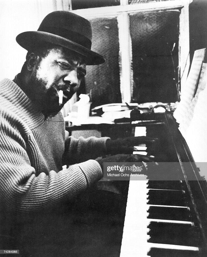 Jazz Pianist Thelonious Monk : ニュース写真