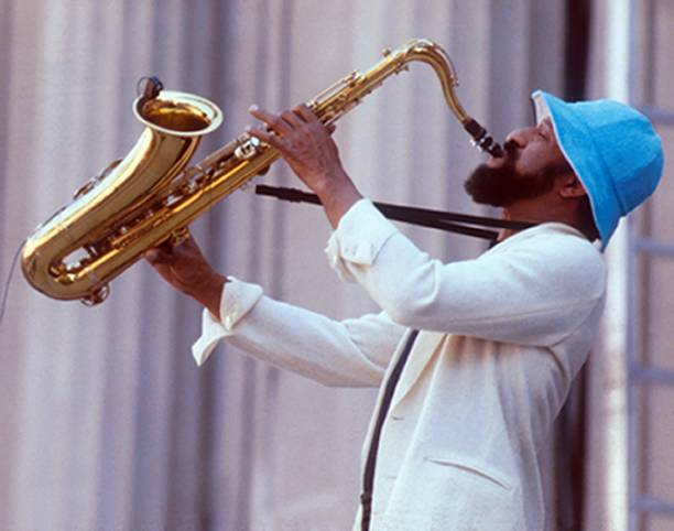 Sonny Rollins Performing Wall Art