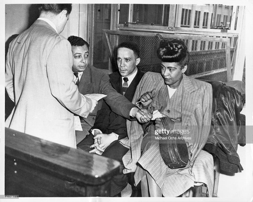 Billie Holiday Arrest : News Photo