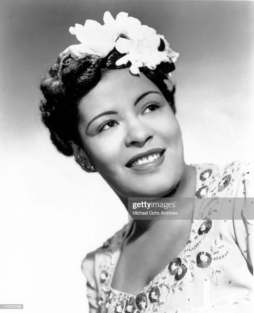 Billie Holiday Portrait : Nieuwsfoto's