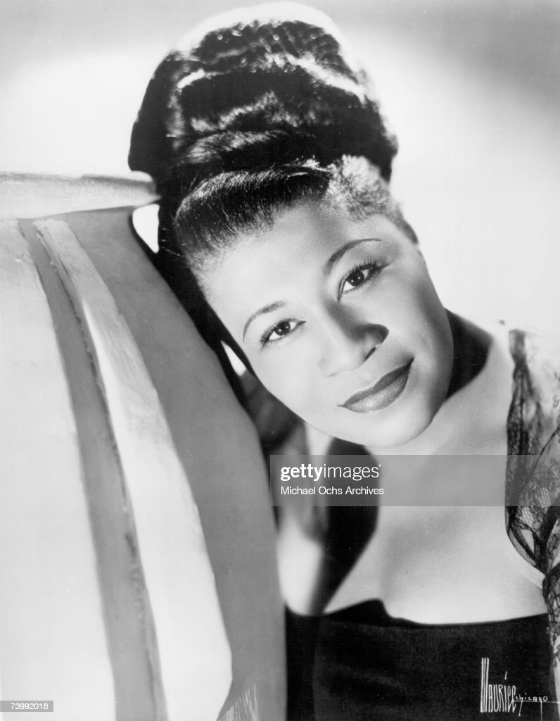 Jazz singer Ella Fitzgerald poses for a portrait circa 1940 in Chicago, Illinois.
