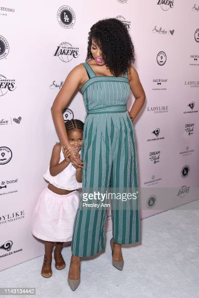Jazz Smollett attends The LadyLike Foundation Women Of Excellence Luncheon at The Beverly Hilton Hotel on May 11 2019 in Beverly Hills California