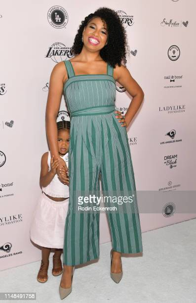 Jazz Smollett attends The LadyLike Foundation's 11th Annual Women of Excellence Luncheon at The Beverly Hilton Hotel on May 11 2019 in Beverly Hills...