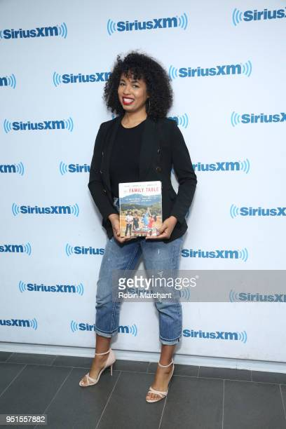 Jazz SmollettWarwell visits at SiriusXM Studios on April 26 2018 in New York City