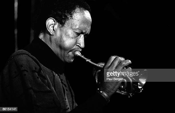 Jazz trumpet player Don Cherry performing live on stage at the North Sea Jazz Festival in the Hague Holland on July 12 1992