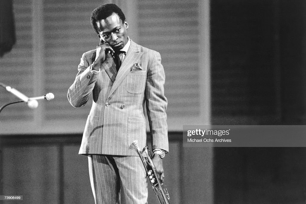 Archive Entertainment On Wire Image: Miles Davis