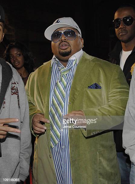 Jazze Pha during 2006 BET Hip-Hop Awards - Black Carpet at Fox Theatre in Atlanta, Georgia, United States.