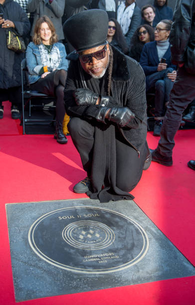 GBR: Soul II Soul Music Walk Of Fame Unveiling