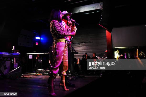 Jazzy Amra performs onstage at HEADS Music during the 2019 SXSW Conference and Festivals on March 14 2019 in Austin Texas
