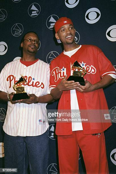 Jazzy Jeff and Will Smith hold Grammy Awards at Radio City Music Hall