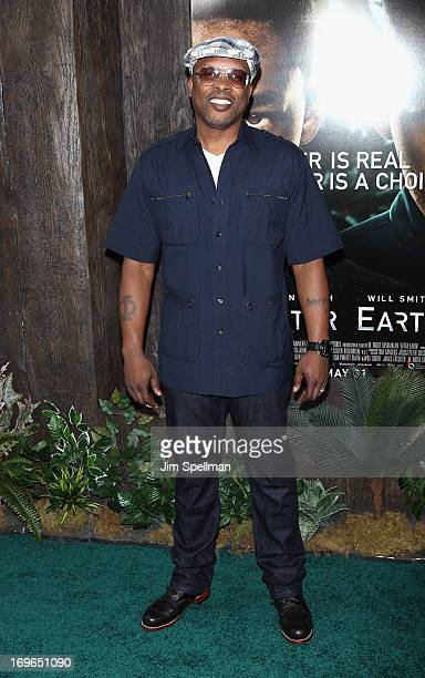 Jazzy Jeff attend the 'After Earth' premiere at the Ziegfeld Theater on May 29 2013 in New York City