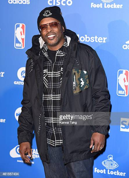 Jazzy Jeff attends the NBA Global Games London 2015 Tip Off Party at Millbank Tower on January 14 2015 in London England