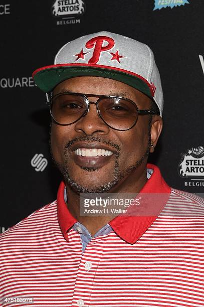 Jazzy Jeff attends the Vulture Festival Opening Night Party at The Top of The Standard on May 29 2015 in New York City