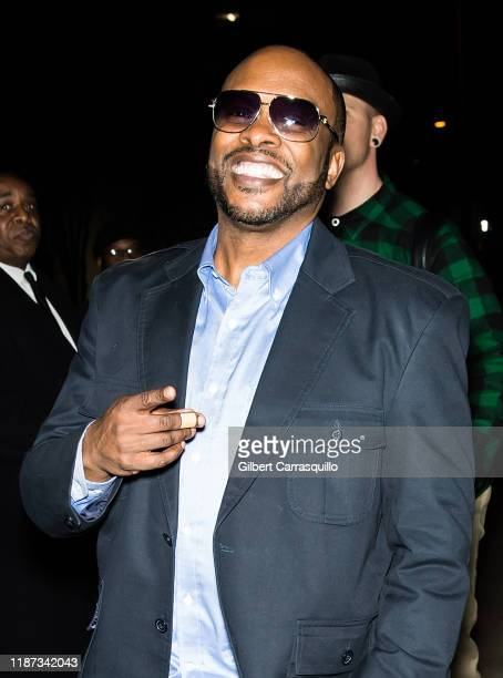 Jazzy Jeff is seen leaving the 2019 Marian Anderson Award Honoring Kool The Gang on November 12 2019 in Philadelphia Pennsylvania