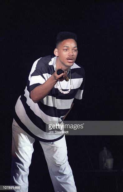 Jazzy Jeff & The Fresh Prince perform at First Avenue nightclub in Minneapolis, Minnesota on March 12, 1990.