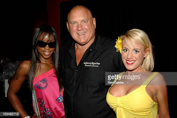 Jazzy JonesDennis Hof and Cami Parker attend New York's Funniest Reporter Show at Gotham Comedy Club on August 19 2010 in New York City