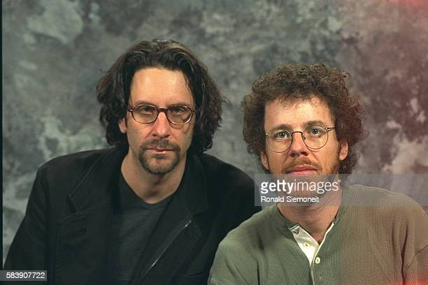 JCoen scriptwriter and director and Ethan Coen scriptwriter and producer of 'The Big Lebowski'