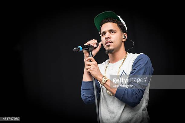 Cole performs on the main stage at the Wireless festival Birmingham at Perry Park on July 5 2014 in Birmingham United Kingdom