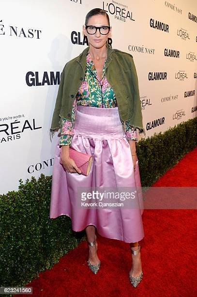 Crew President and Creative Director Jenna Lyons attends Glamour Women Of The Year 2016 at NeueHouse Hollywood on November 14 2016 in Los Angeles...