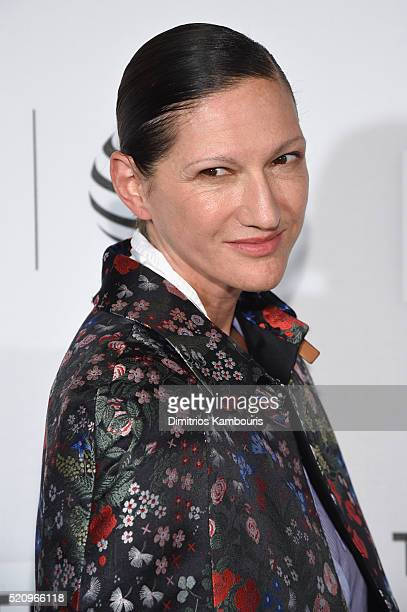 JCrew President and Creative Director Jenna Lyons attends the First Monday In May world premiere during the 2016 Tribeca Film Festival opening night...