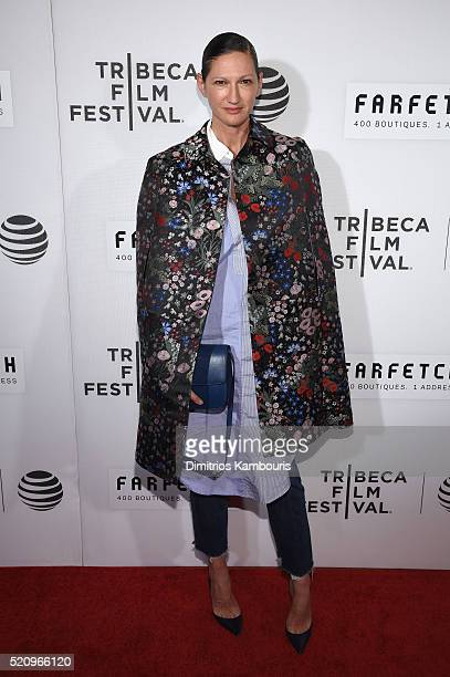 JCrew President and Creative Director Jenna Lyons attends the 'First Monday In May' world premiere during the 2016 Tribeca Film Festival opening...