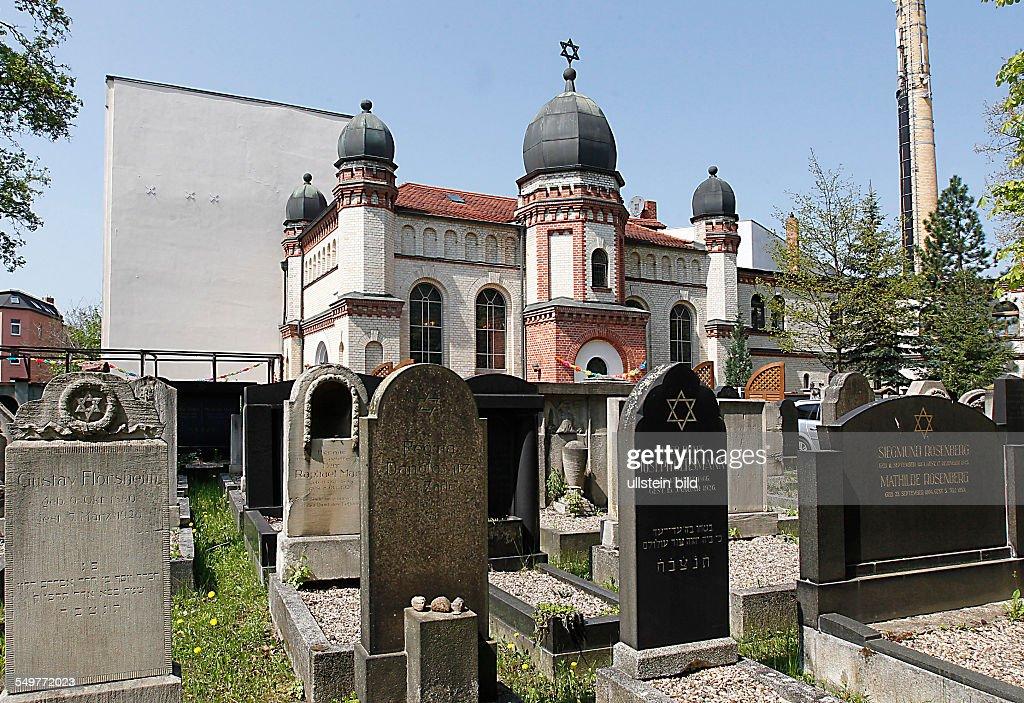 Jüdische Synagoge Halle (Saale) : News Photo