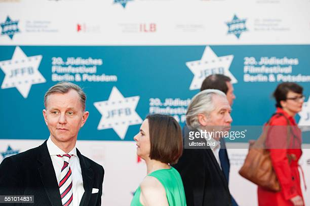 20 Jüdisches Filmfesival 2014 Gala Empfang HansOttoTheater Potsdam Max Raabe