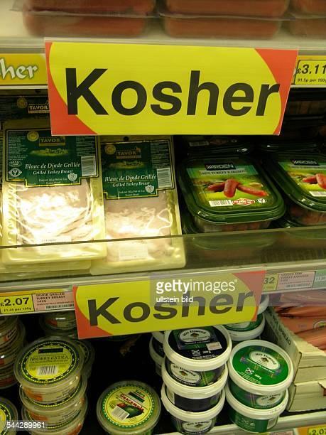 Jüdisches Leben Koschere Lebensmittel