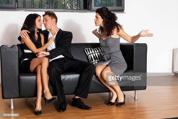 Gelose donna e coppia