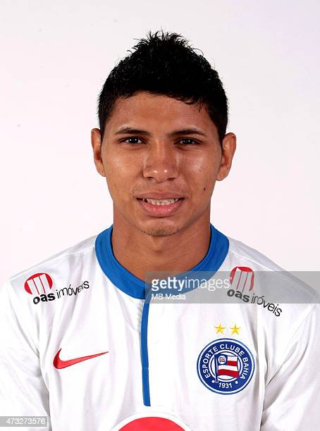 Jeam of Esporte Clube Bahia poses during a portrait session August 14 2014 in SalvadorBrazil