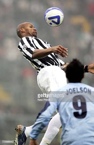 Jean Alain Boumsong of Juventus controls the balli during the Serie B match between Albinoleffe and Juventus at the Atleti Azzurri d'Italia stadium...