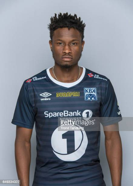 Jean Alassane Mendy of Team Kristiansund BK on March 7 2017 in Kristiansund Norway
