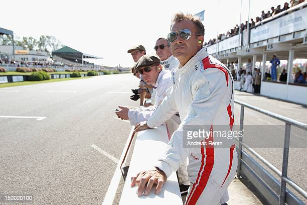 Jean Alesi attends the Goodwood Revival 2012 on September 15 2012 in Chichester United Kingdom